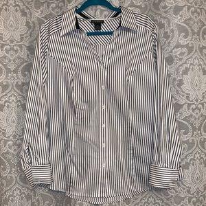 Lane Bryant button up shirt